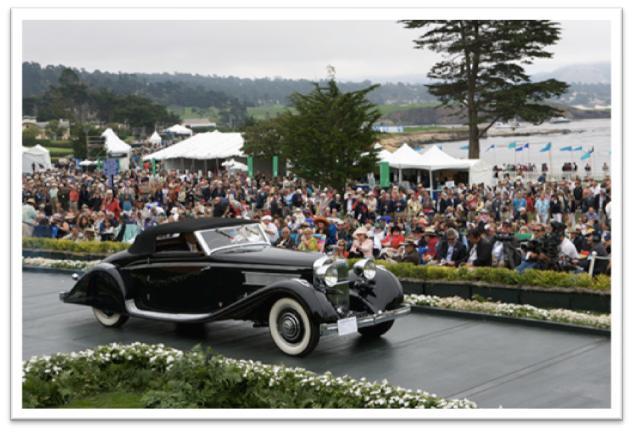 1935 Hispano Suiza K6 Brandone Cabriolet
