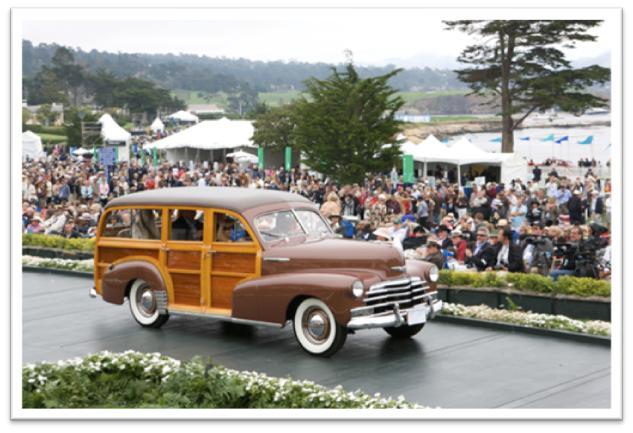 1947 Chevrolet Fleetwood Ionia Station Wagon