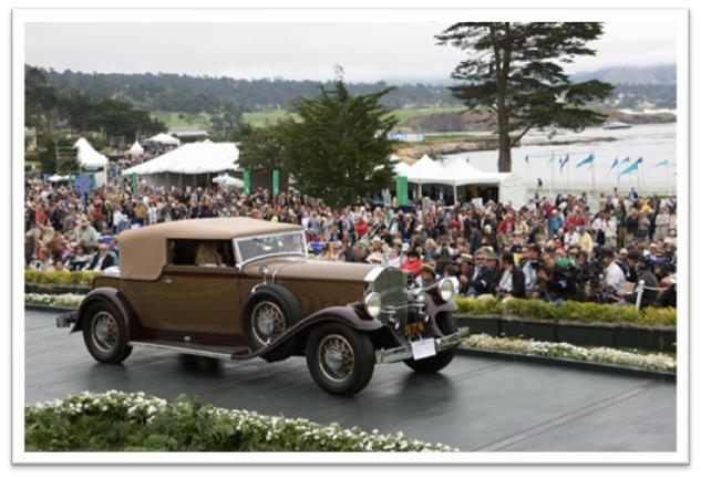 1931 Pierce-Arrow 41 LeBaron Convertible Victoria