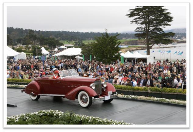 1934 Packard 1108 LeBaron Sport Phaeton