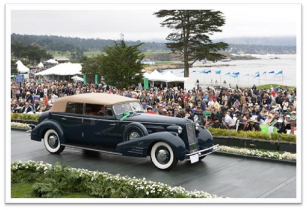 1934 Cadillac V-16 452D Fleetwood Convertible Sedan