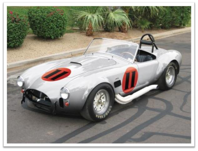 1966 AC Cobra 427 CSX3012 Roadster