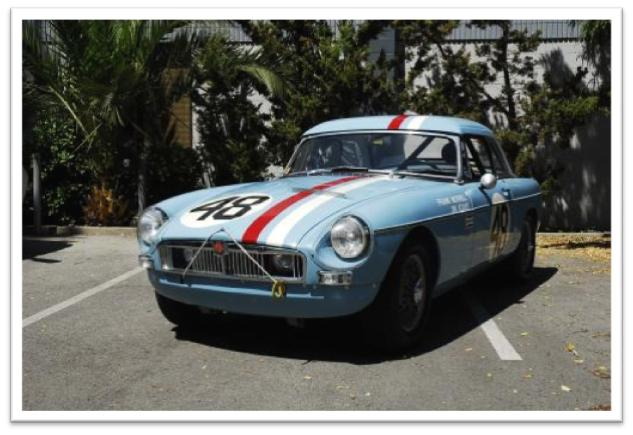 1962 MGB Lightweight Sebring Race Car