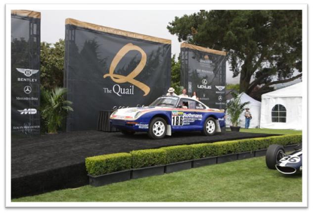 1985 Porsche 959-Paris Dakar owned by Bernard Carl