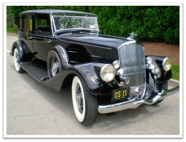 1934 Pierce-Arrow V12 Town Car