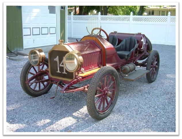 Authentic, race-bodied 1910 Buick Model 10 Speedster