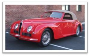 1942 Alfa Romeo 6C 2500 Tipo Sport Cabriolet