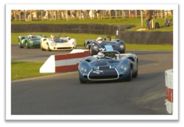Lola T70 Spider Goodwood Revival