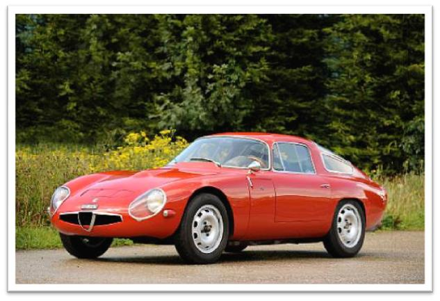 1965 Alfa Romeo TZ1 Berlinetta