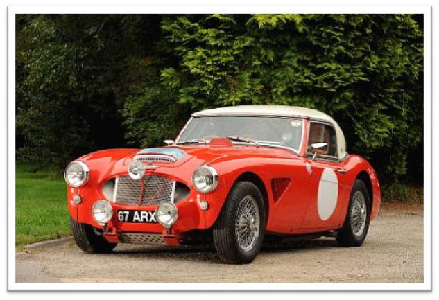 1962 Austin-Healey 3000 MkII Rally Car