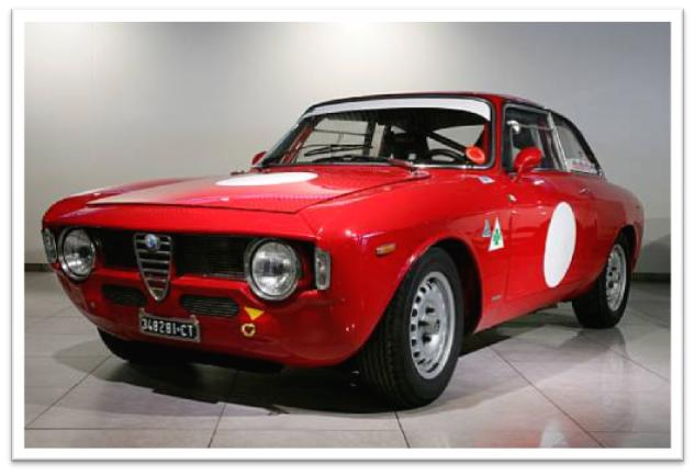 1966 Alfa Romeo Giulia Sprint GTA Coupe