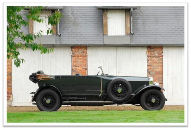 1924 Rolls-Royce Silver Ghost Torpedo