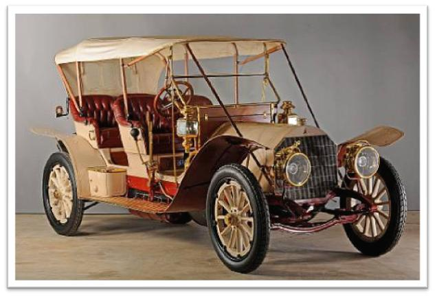 1910 Mercedes 45hp 4-Seat Tourabout