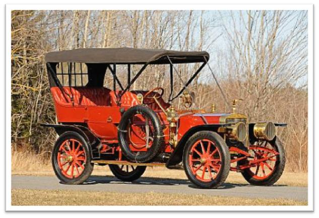 1906 American Tourist Roi-des-Belges Touring Car