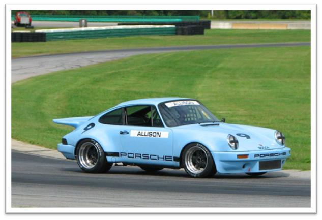 1974 Porsche 911 RSR, Bobby Allison IROC