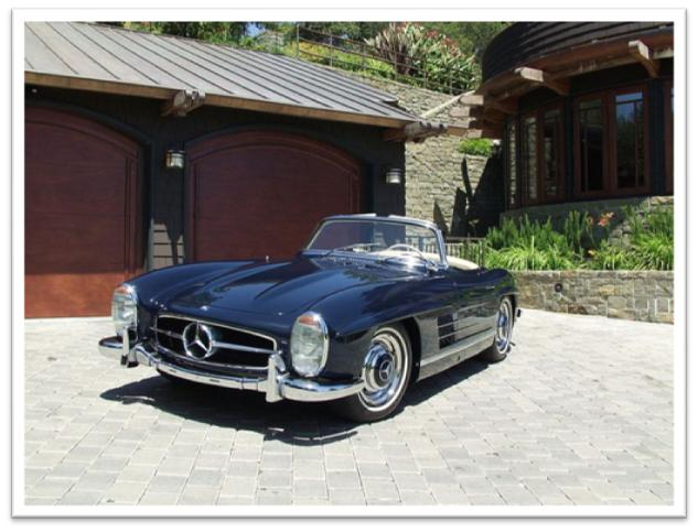 Mercedes benz 300sl roadster car profile for Mercedes benz twitter