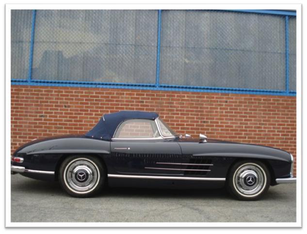 1960 Mercedes-Benz 300SL Roadster Side