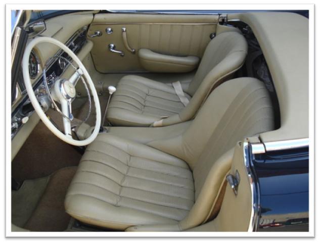 1960 Mercedes-Benz 300SL Roadster Interior