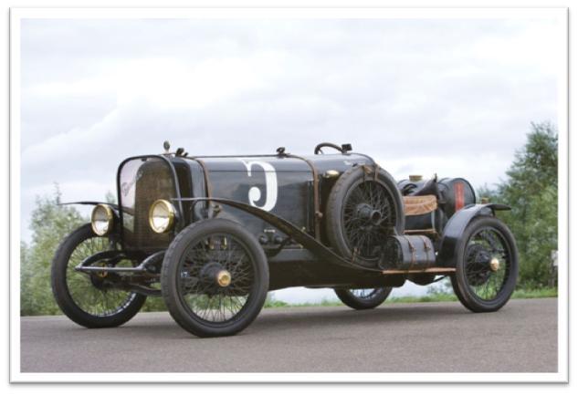 Chandler-Curtiss Racing Car Side