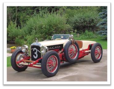 1917 Packard 2-25 Twin Six Runabout Race Car