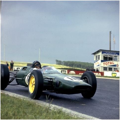 1963 Lotus 25 Formula 1 Racing Car - Jimmy Clark