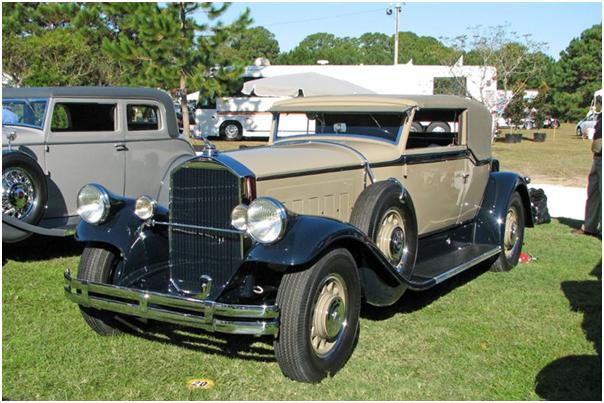 1930 Pierce-Arrow Convertible Victoria