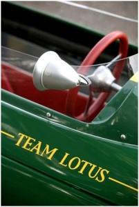 Lotus 25 F1 Detail Photo