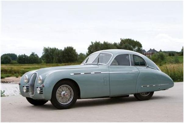 1950 Talbot-Lago Type 26 Grand Sport Coupe Front