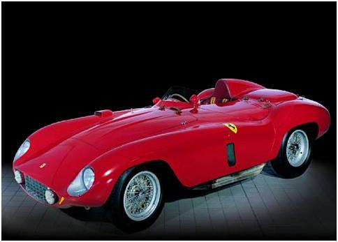 1955 Ferrari 121 LM Spyder