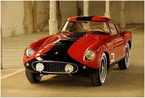 1958 Ferrari 250GT Tour de France Aluminum Competition Berlinetta