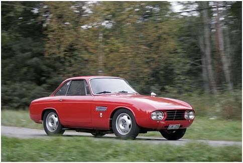 1961 OSCA 1600GT Coupe