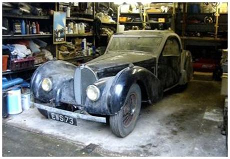 Barn Find Bugatti Headlines Retromobile Sale Bonhams