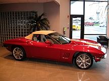2009 Chevrolet Corvette (Lot S91.1) sold for $125,000