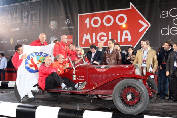 3rd Place – 1928 Alfa Romeo 6C 1500 Super Sport, Antonio and Luciano Viaro