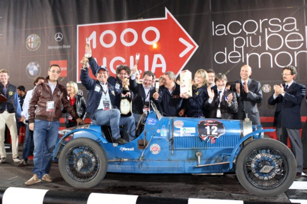 1st Place – 1927 Bugatti Type 37, Carlo and Bruno Ferrari