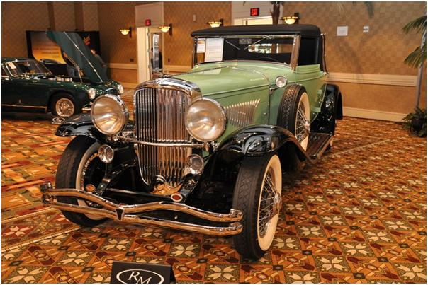 1929 Duesenberg Model J Convertible Coupe by Fleetwood