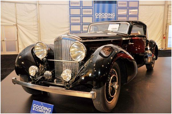 1937 Bentley 4 1/4 Fixed Head Sport Coupe