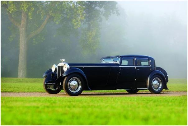 1932 Daimler 40/50 Double Six Sport Saloon, Gooding