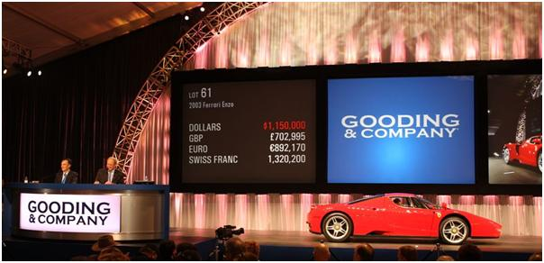 2003 Ferrari Enzo, Gooding