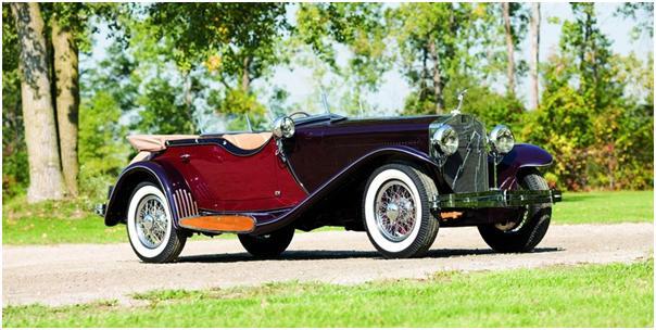 1933 Isotta Fraschini Tipo 8A Dual Cowl Sports Phaeton, Gooding