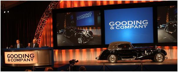 1938 Mercedes-Benz 540K Sport Cabriolet, Gooding