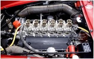 Ferrari 250 GT SWB Alloy Competizione Engine