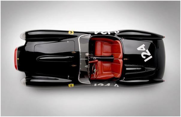 1957 Ferrari 250 Testa Rossa (Chassis # 0714TR) top