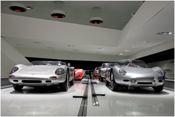 Targa Florio, Porsche Museum, 1962 Porsche 718 W-RS Spyder, 1960 Porsche 718 RS 60 Spyder