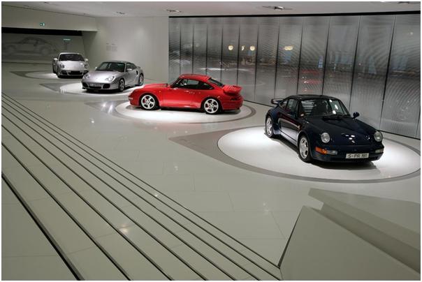 Porsche Museum 911 theme