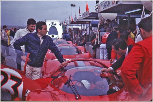 Ferrari 330 P3/4 - Lorenzo Bandini