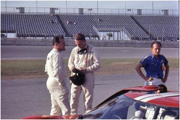 Dan Gurney and A.J. Foyt, Ford GT40 Mk II