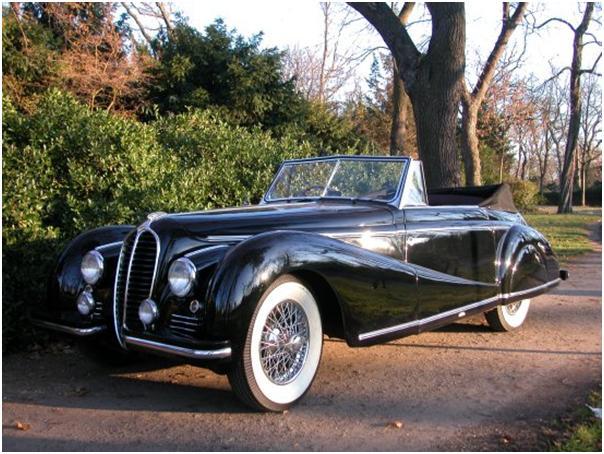 1949 Delahaye 135 MS Cabriolet