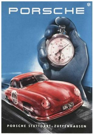Porsche Showroom Posters – The First 25 Years