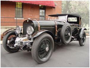 1927 Hudson Super Six Supercharged Sports Tourer